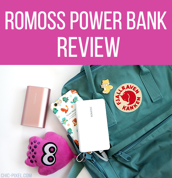 Romoss ACE10 and Q Series Power Bank Review Chic Pixel
