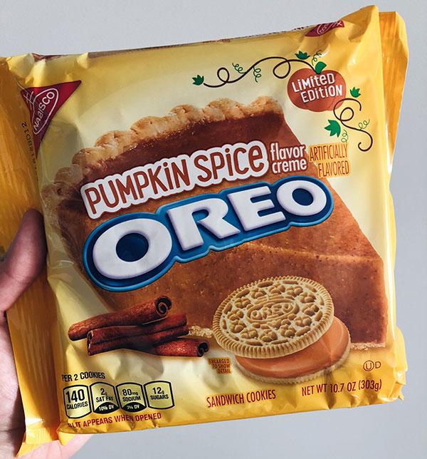 Halloween Pumpkin Spice Oreo