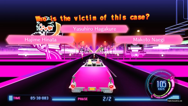 Danganronpa V3: Killing Harmony psyche taxi screenshot
