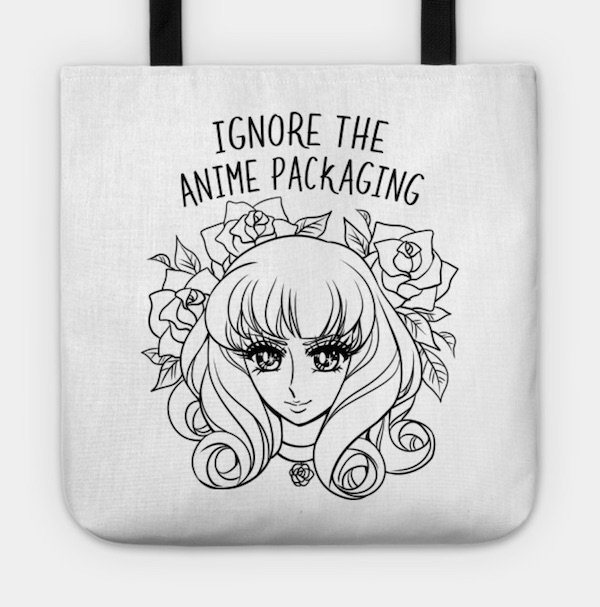 Ignore the Anime Packaging Tote Bag Space Coyote