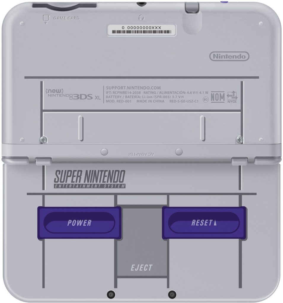 SNES New 3DS XL
