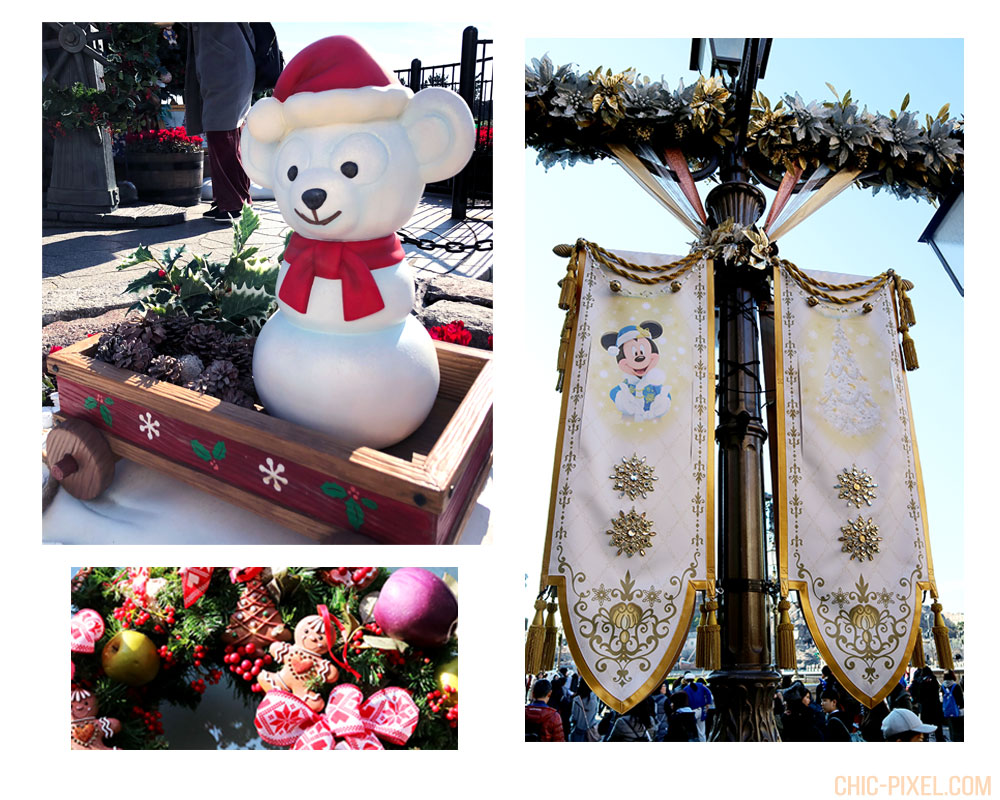 Visiting Tokyo DisneySea at Christmas Time Christmas decorations