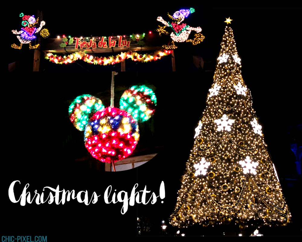 Visiting Tokyo DisneySea at Christmas Time Christmas lights