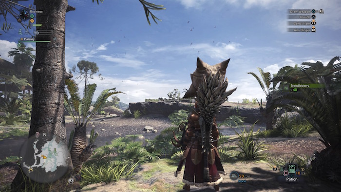 Monster Hunter World Beta PS4 screenshot