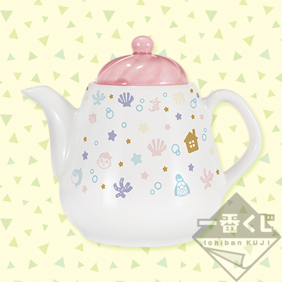 Animal Crossing Ichiban Kuji teapot