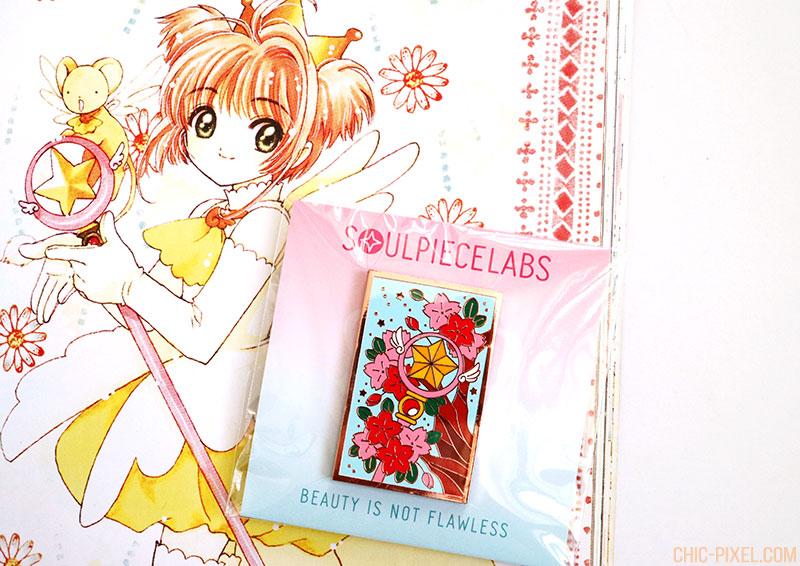 Cardcaptor Sakura star wand pin Soul Piece Labs