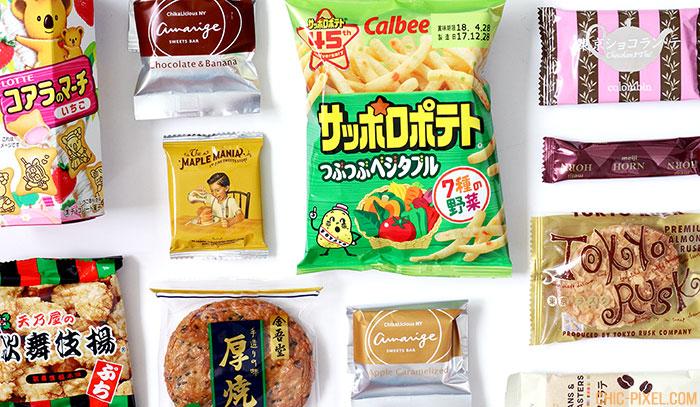 bokksuBokksu Japanese Snack Subscription Review items closeup