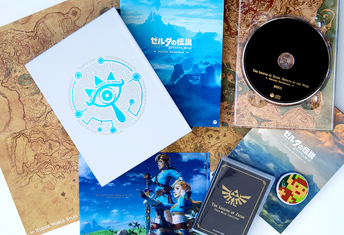 The Legend of Zelda: Breath of the Wild Limited Edition Soundtrack