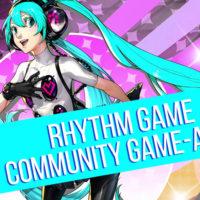 June 2018 Community Game-Along Rhythm Games