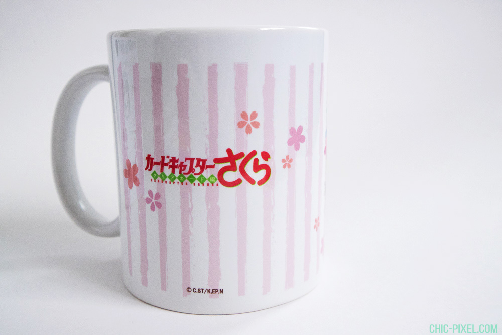 Cardcaptor Sakura Flower Garden Cafe mug Sakura Tomoyo back