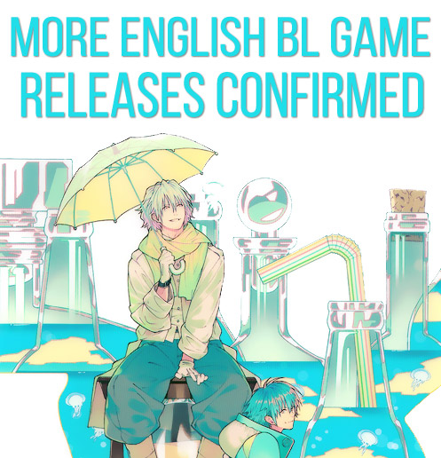 More Nitro+ Chiral and Luckydog1 BL English Releases Confirmed