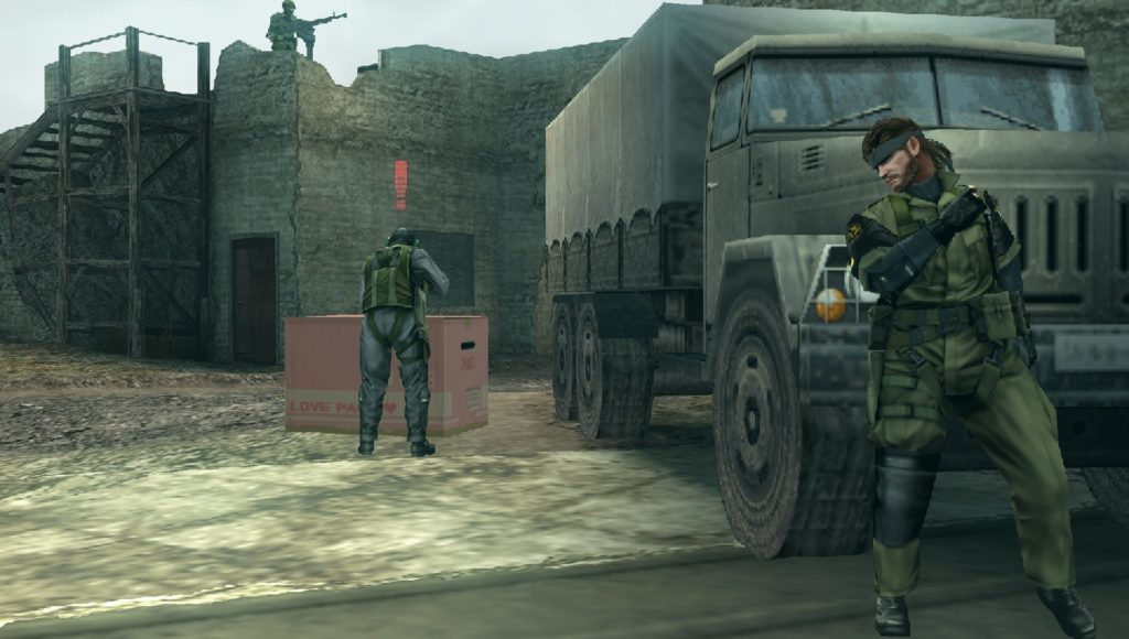 Metal Gear stealth screenshot