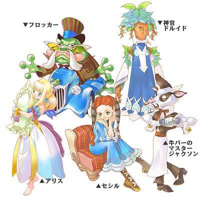 Napple Tale characters
