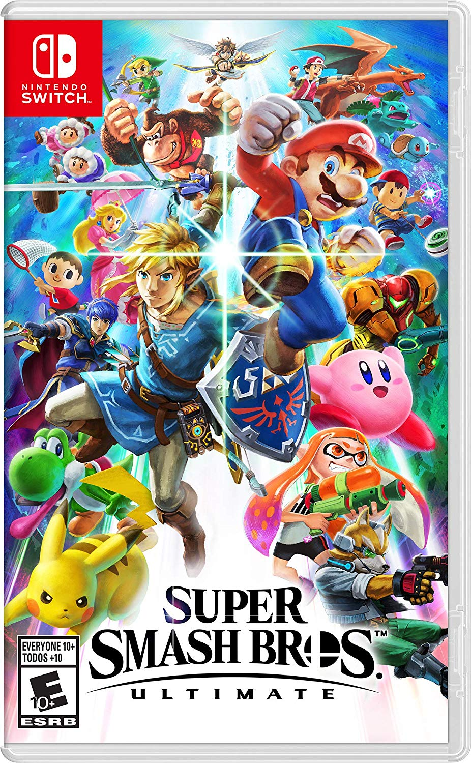 Super Smash Bros Ultimate Switch Preorder