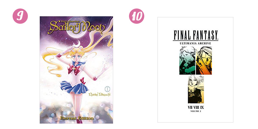 20 Holiday Gift Ideas for Video Game and Manga Fans Sailor Moon Final Fantasy