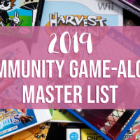 2019 Community Game-Along Master List