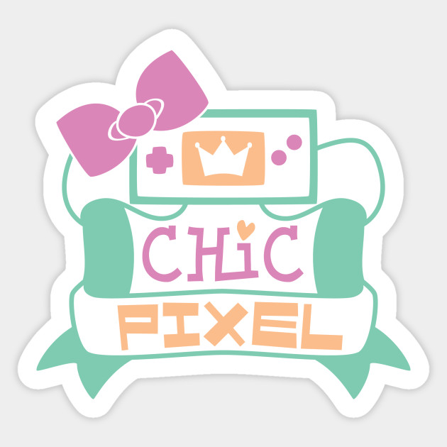 Top 10 Chic Pixel Picks Creator Store Product Chic Pixel logo sticker