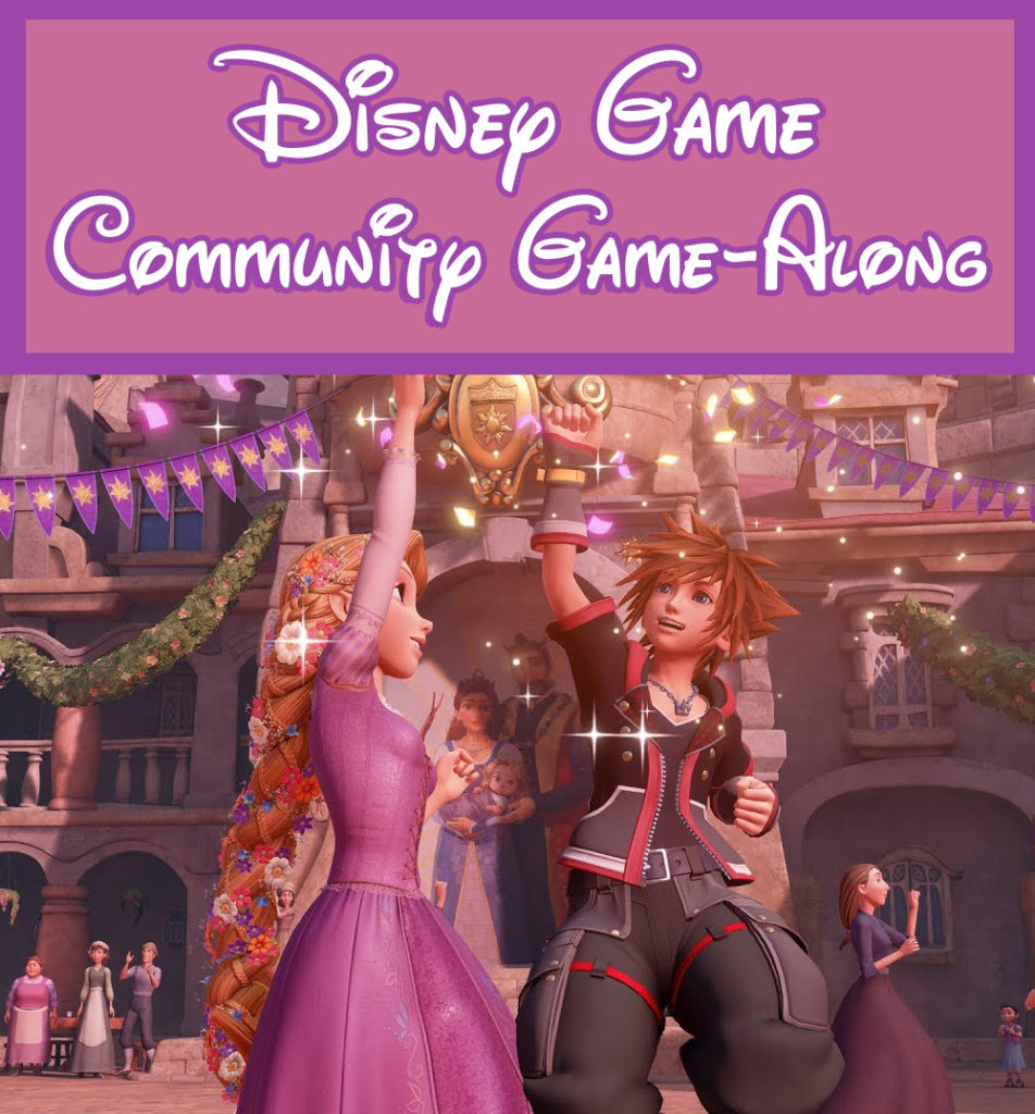 Disney Game Community Game-Along