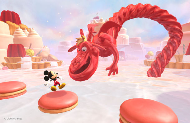 Castle of Illusion Starring Mickey Mouse screenshot Disney game