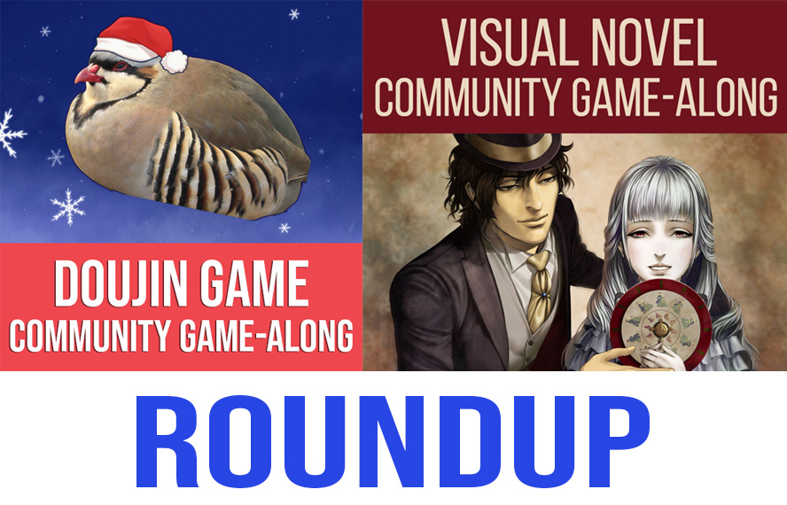 November and December 2018 Community Game-Along Roundup