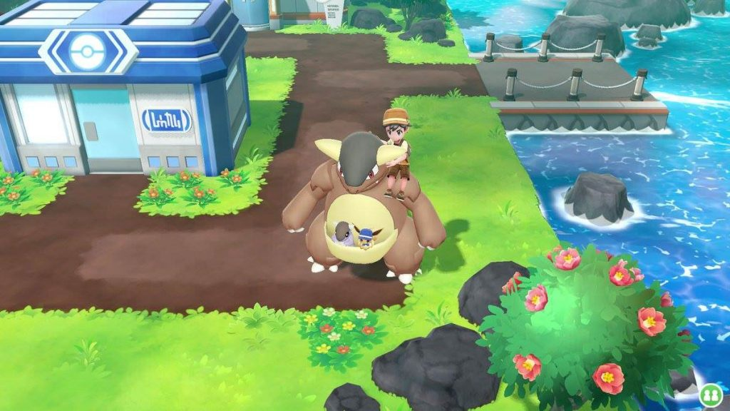 Pokemon Let's Go Pikachu Eevee Game Freak game Community Game-Along screenshot