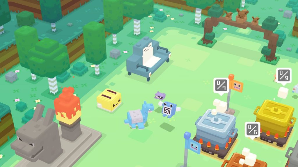 Pokemon Quest Game Freak game Community Game-Along screenshot
