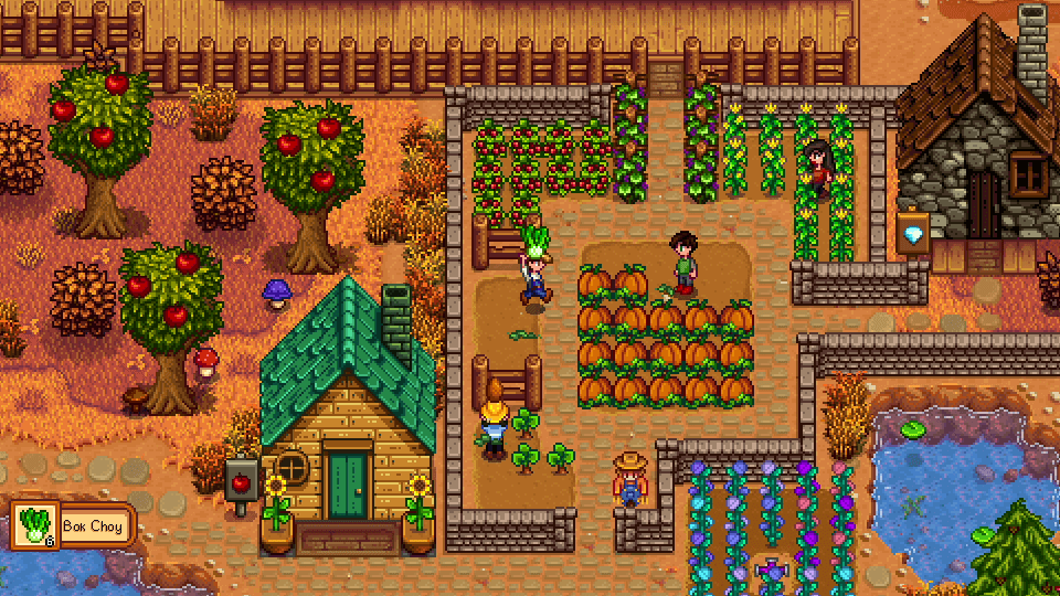 stardew valley screenshot farming game