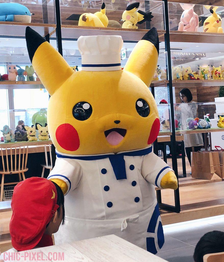 Pokemon Cafe Tokyo Pikachu performance
