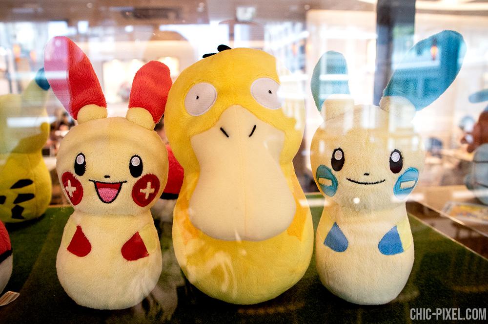 Pokemon Cafe Tokyo plushies