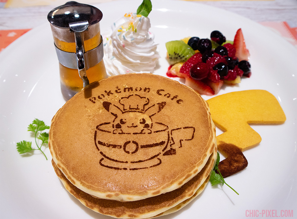 Pokemon Cafe Tokyo Pikachu pancakes