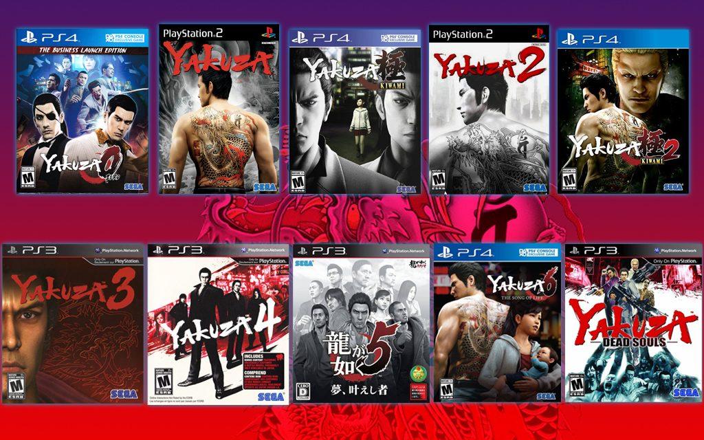 Neal Akuma Yakuza Studio games Yakuza series