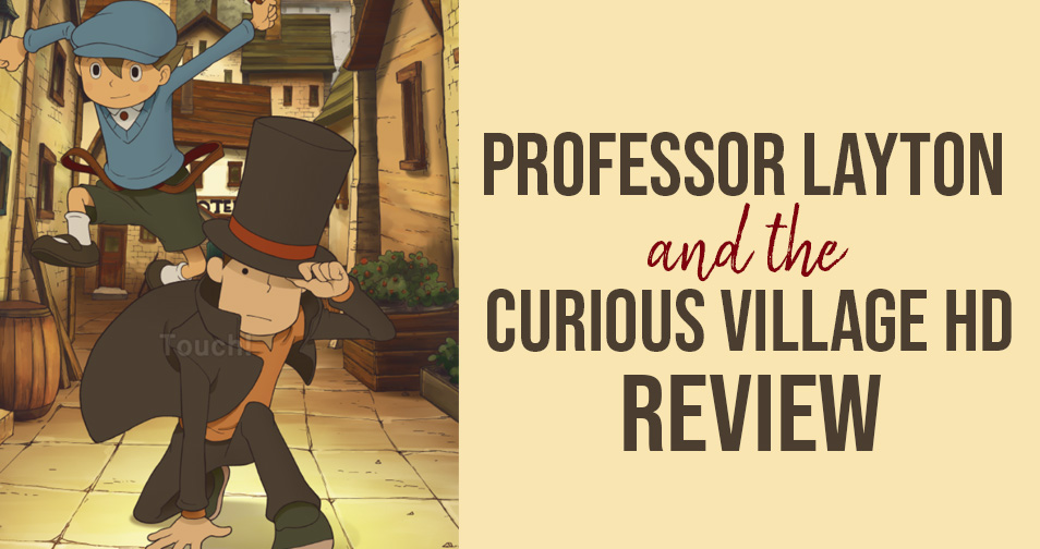 Professor Layton and the Curious Village HD review Chic Pixel