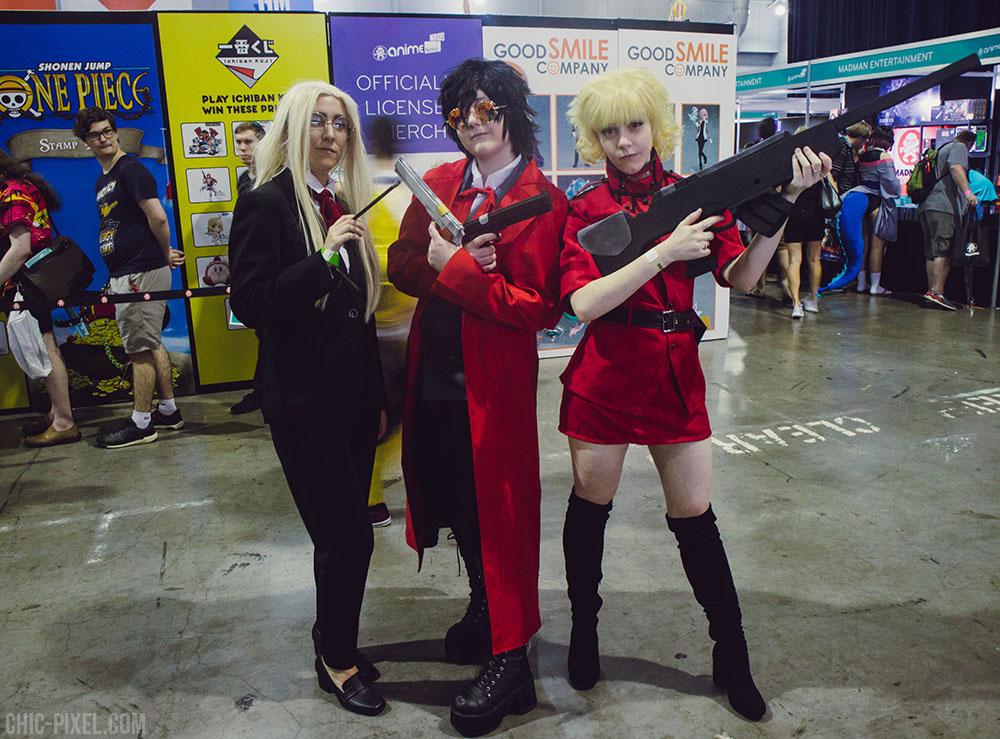 Hellsing cosplay Madfest Brisbane 2019