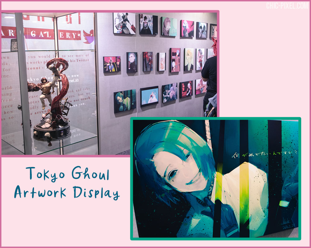 Tokyo Ghoul artwork display Madfest Brisbane 2019