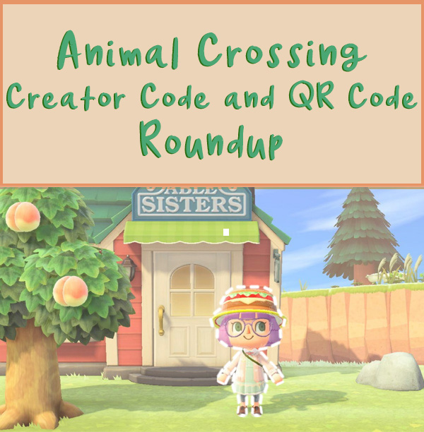 Animal Crossing New Horizons Creator codes and qr codes