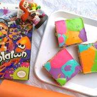 Splatoon cheesecake