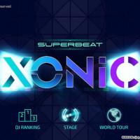Superbeat Xonic title screen