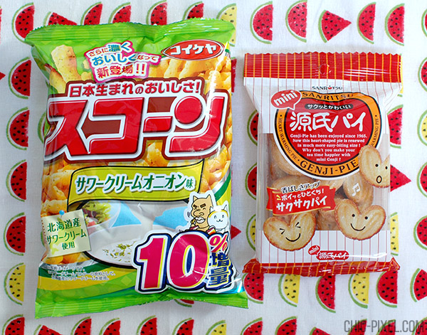 OyatsuBox Japanese snack subscription review February 2016 snacks 1