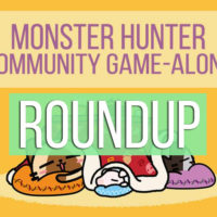 Monster Hunter Community Game-Along roundup